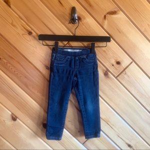 Tractr Girl Skinny Jeans Dark Wash 3t